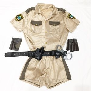 Other - Men's police sheriff costume Sz M